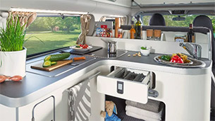 Cuisine Ford Transit Nugget